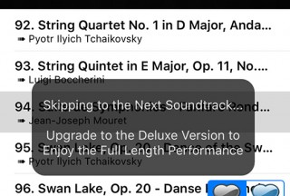 Classical Music I: Master's Collection Vol. 1, Message that informs to skip to next soundtrack