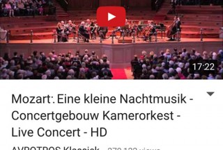Classical Music I: Master's Collection Vol. 1, Built-in YouTube Viewer