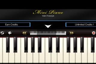 Mini Piano ®, Choose how to obtain credits