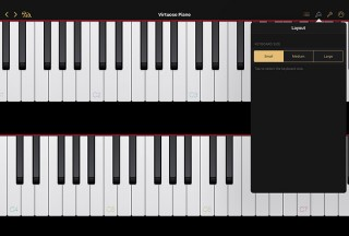Virtuoso Piano Free 4, Small display mode