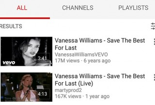 Tiny Piano, Redirected to YouTube search results