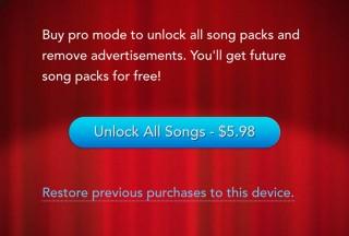Tiny Piano, Unlock all songs