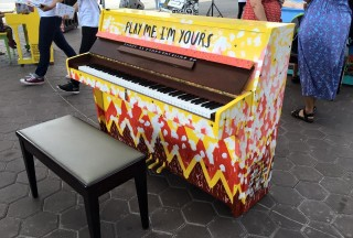 Play Me, I'm Yours Singapore 2016, Official Launch, Piano #3