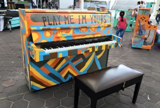 Play Me, I'm Yours Singapore 2016, Official Launch, Piano #6
