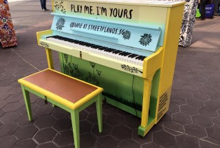 Play Me, I'm Yours Singapore 2016, Official Launch, Piano #8
