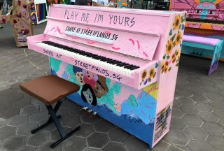 Play Me, I'm Yours Singapore 2016, Official Launch, Piano #9