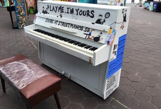 Play Me, I'm Yours Singapore 2016, Official Launch, Piano #20