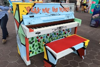 Play Me, I'm Yours Singapore 2016, Official Launch, Piano #25