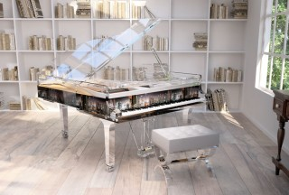 Blüthner, Lucid Pianos, Panoramic Dubai Interior (Picture by Lucid Pianos)