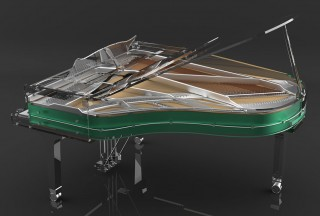 Blüthner, Lucid Pianos, Elegance Sport (Picture by Lucid Pianos)
