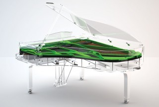 Blüthner, Lucid Pianos, iDyllic Green (Picture by Lucid Pianos)