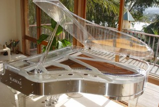Kawai Crystal Grand Piano, CR-40A (Picture by Ken Davis)