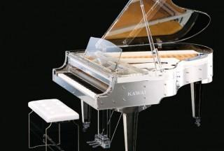 Kawai Transparent Grand Piano, CR-40A (Picture by Kawai)