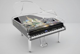 Blüthner, Lucid Pianos, Digital Grand Piano (Picture by Lucid Pianos)