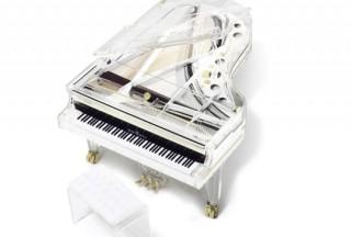 Schimmel Glass Grand Piano K213G (Picture by Schimmel)