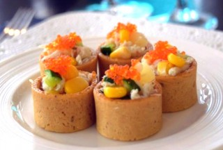 Blue Swimmer Crab Tartlets