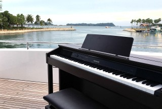 Casio CELVIANO AP-460 on flybridge