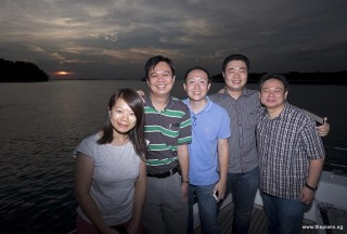 Pianovers Sailaway 2016, Lorraine, Zensen, Yong Meng, Jerome and Gee Yong