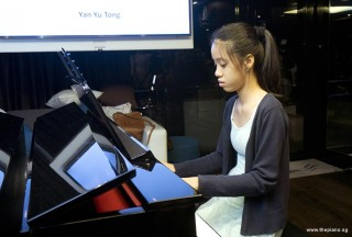 Pianovers Sailaway 2016, Mini-Recital, Yu Tong performing #3