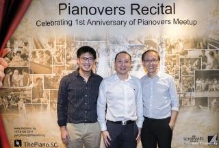 Pianovers Recital 2017, Nicholas Chiu, Sng Yong Meng, Ernest Chiu