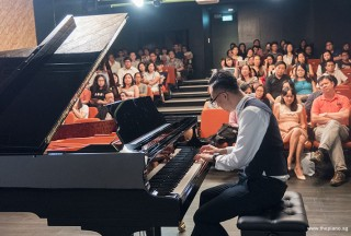 Pianovers Recital 2017, Yu Teik Lee performing