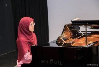 Pianovers Recital 2017, Desiree Abdurrachim performing