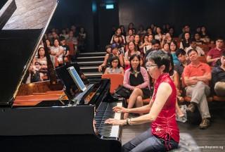 Pianovers Recital 2017, Pek Siew Tin performing