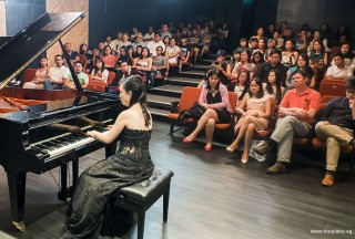 Pianovers Recital 2017, Jenny Soh performing
