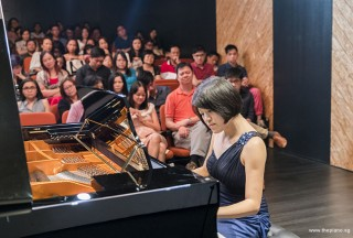 Pianovers Recital 2017, Julia Goh performing
