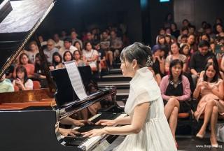 Pianovers Recital 2017, Gladdana Hu performing