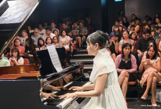 Pianovers Recital 2017, Gladdana Hu performing