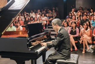 Pianovers Recital 2017, Isao Nishida performing