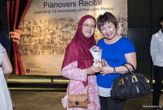 Pianovers Recital 2017, Desiree Abdurrachim, and Angeline Lim