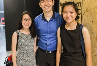 Pianovers Recital 2017, Li Ying, Mark Sim, and Cai Ping