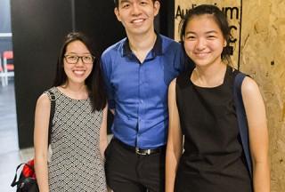 Pianovers Recital 2017, Li Ying, Mark Sim, and Cai Ping