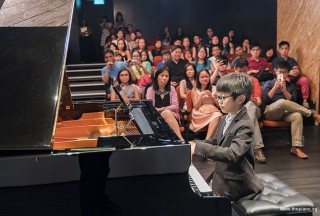 Pianovers Recital 2017, Asher Seow performing