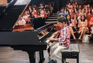Pianovers Recital 2017, Tejas Kurmala performing