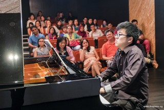 Pianovers Recital 2017, Tea Zhi Yuan performing