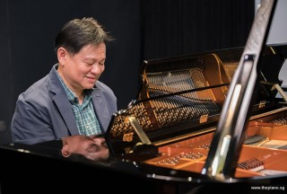 Pianovers Recital 2017, Gee Yong performing