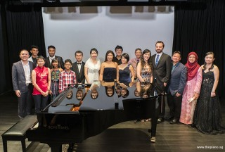 Pianovers Recital 2017, Group picture of Sng Yong Meng, and performers