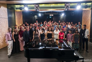 Pianovers Recital 2017, Group picture of performers, supporters, and guests
