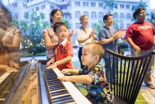 Pianovers Meetup #47, Zhi Zhen's brother having fun