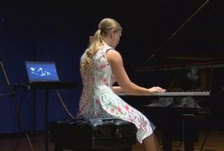 Yamaha Disklavier CFX concert grand piano (DCFX) Demonstration at UAH