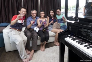 Pianovers Sailaway 2016, Lawrence, Jing Lin, Siok Hua, Xuefen, and Jim