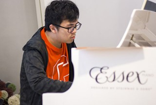 Pianovers Hours, Zhi Yuan performing #2