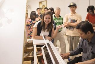 Pianovers Hours, Zensen playing