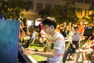 Pianovers Meetup #45 (NDP Themed), Ray performing