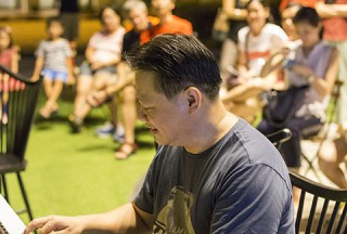 Pianovers Meetup #45 (NDP Themed), Gee Yong performing
