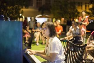 Pianovers Meetup #45 (NDP Themed), Yayoi performing
