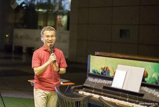 Pianovers Meetup #45 (NDP Themed), Isao sharing with us
